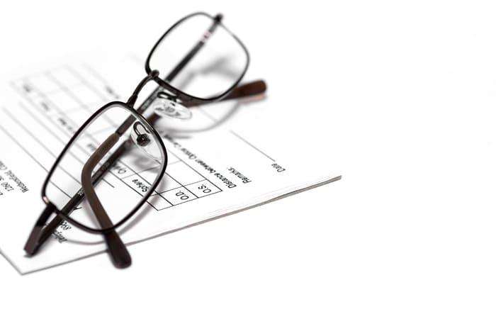 dofinasowanie do okularów w pracy